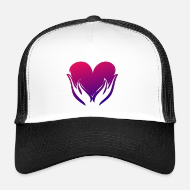 Illustration Illustration de coeur - Trucker Cap