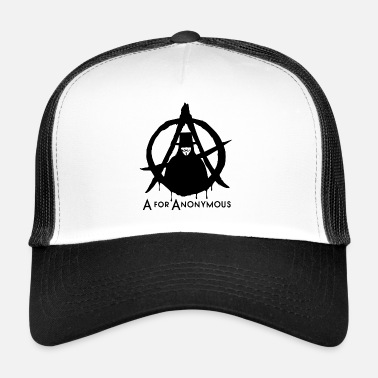 Anonymous Anonymous - A Anonymous - Olemme leegio - Trucker Cap