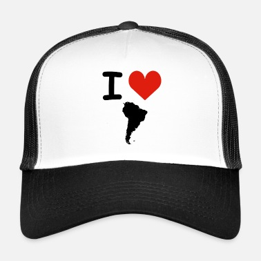 South America I Love South America - Trucker Cap