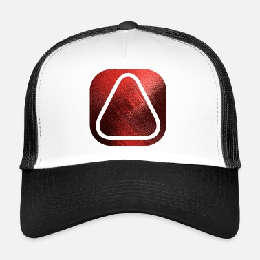 Sacred Geometry SQUARES VIERECKE RED 20 - Trucker Cap