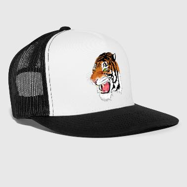 Kuma the Bengal Tiger - Trucker Cap
