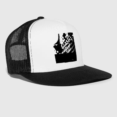 logo streetart expérimental conception de graffiti - Trucker Cap