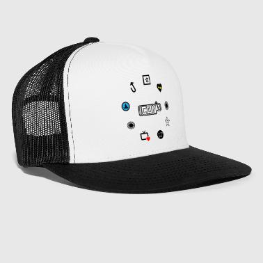 icons - Trucker Cap