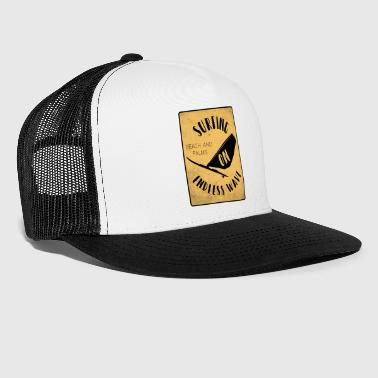 Surfing the beach Palmujen aallot - Trucker Cap