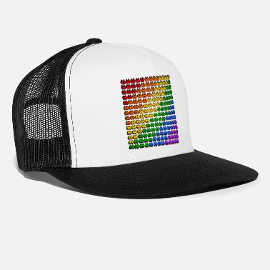 Gay pride tolerance lesbian equality - Trucker Cap