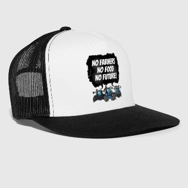 food_tshirt_blauw - Trucker Cap