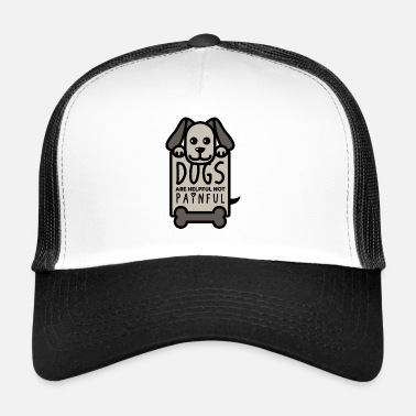 Message Chiens aident Bone Sweet Chiot Cool Gift - Trucker Cap