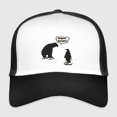North Pole and South Pole - Trucker Cap
