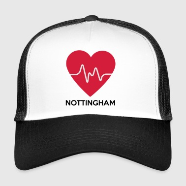 Heart Nottingham - Trucker Cap