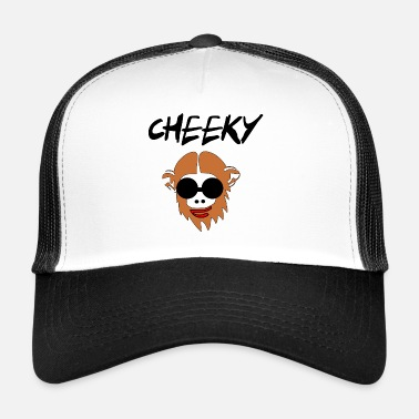 Cheeky cheeky monkay - Trucker Cap