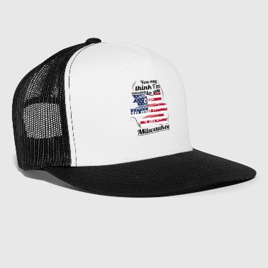 THERAPIE HOLIDAY Reizen Amerika USA Milwaukee - Trucker Cap