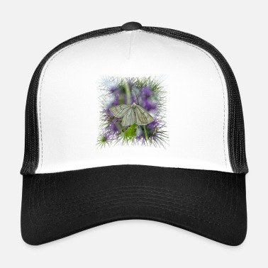 Spanner Hartheu spanner on lavender flower - Trucker Cap