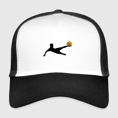 Halloween footballer volley - Trucker Cap