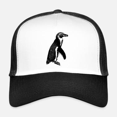 Neve artica del polo sud del pinguino di imperatore del pinguino - Cappello  trucker 52206daea0c9