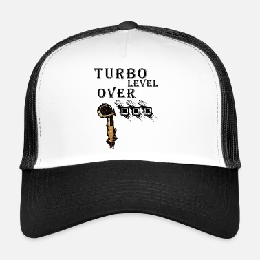 Turbo level over 9000 shirt - Trucker Cap