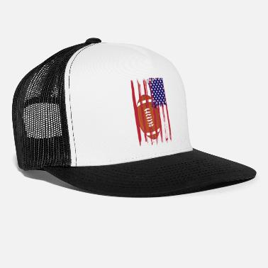 Hope Football with USA flag - Trucker Cap