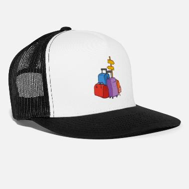 Illustration hobbies Travel Luggage - Trucker Cap