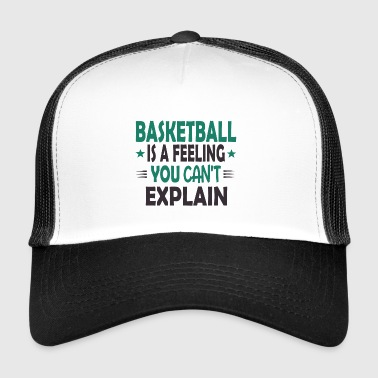 Basketbalteam Basketballer basketbalteam shirt cadeau - Trucker Cap