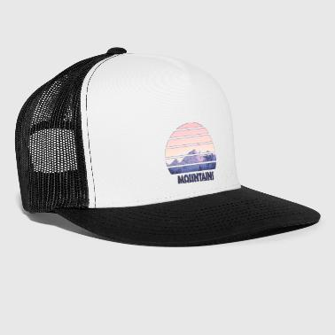 Mountains - mountains - Trucker Cap