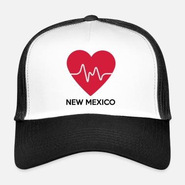 New-mexico Heart New Mexico - Trucker Cap