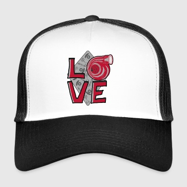 LOVE Turbo - Trucker Cap