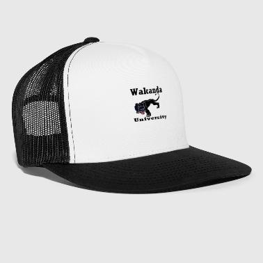 wakanda universitet - Trucker Cap
