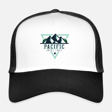 Crest Pacific Crest Trail - PCT Shirt - Trucker Cap