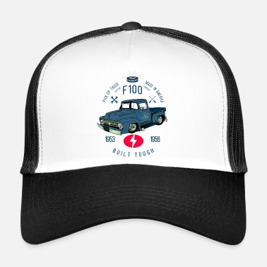Bikes And Cars Collection F100 Built Tough - Trucker Cap