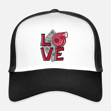 Turbo LOVE Turbo - Trucker Cap