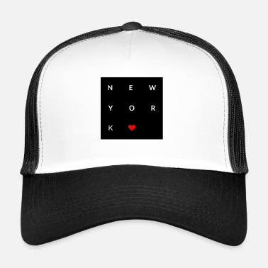 I Love New York New York Love - Trucker Cap