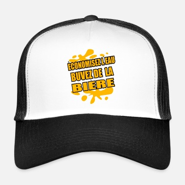 Kicker Beer Shirt • Drink Beer • Yellow Gifts - Trucker Cap