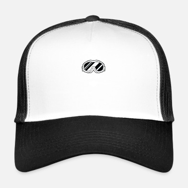 Ski Lift Born To Ski Winter sports ski slope Ski holiday Ski lift - Trucker Cap
