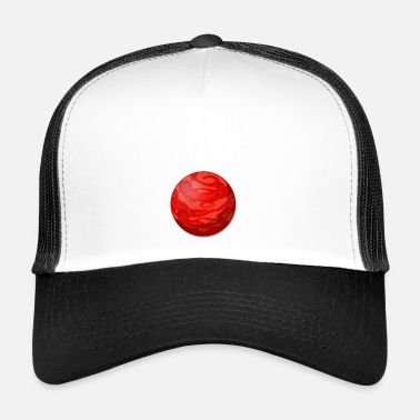 Occupy Occupy Mars Space - Trucker Cap