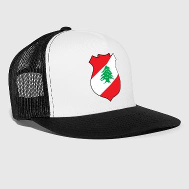 National Coat Of Arms Of Lebanon - Trucker Cap