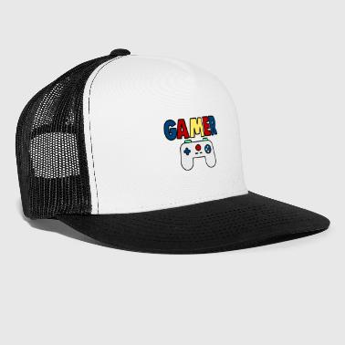 gamer console - Trucker Cap