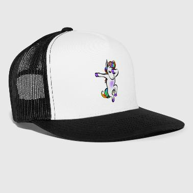 Unicorn: Funny söt unicorn - Trucker Cap