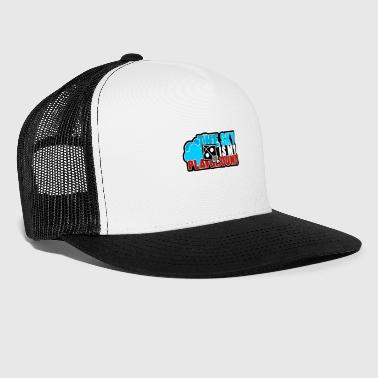 the sky is my playground - Trucker Cap