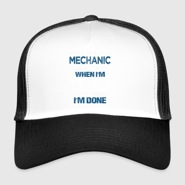 Mechanik samochodowy mechanik mechanika prezent - Trucker Cap