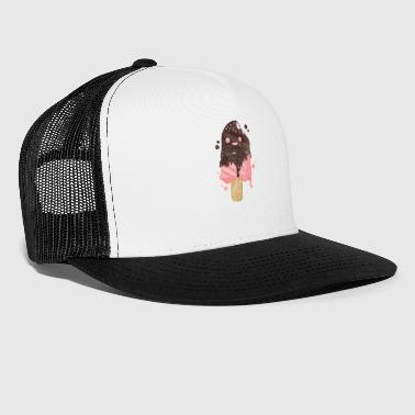 Ice cream party summer ice cream heat holidays ice cream parlor - Trucker Cap
