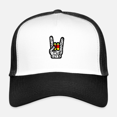 Rock N Roll Rock - Main Rock N Roll - Trucker Cap