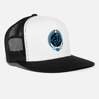 Tribal Fenris Wolf - Cappello trucker