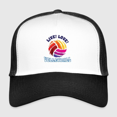 Volleyball shirt for women and girls - Trucker Cap