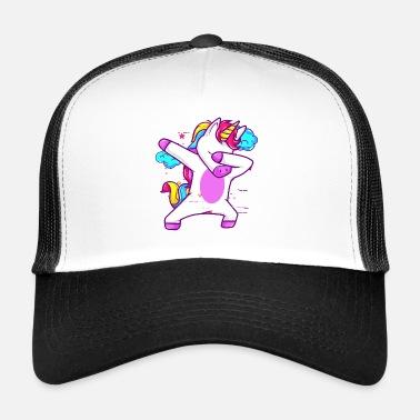 Gullig Dabbing Unicorn rolig gåva Ryggsäck | Spreadshirt