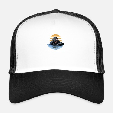 Navy Seals Navy Seals Rescue Diver - Trucker Cap