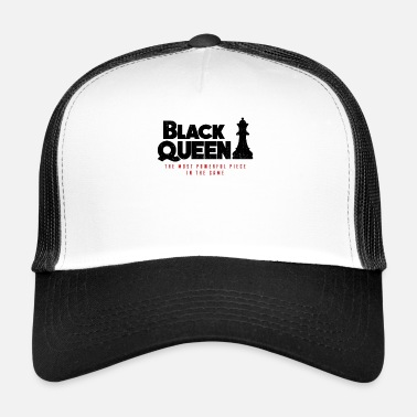 Black-power Opgeleide Black Queen, Black Pride, Black Power - Trucker Cap