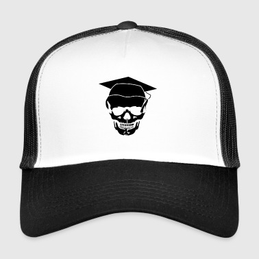 Spoof Skull too long at school - Trucker Cap