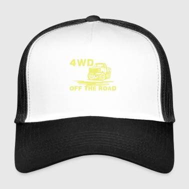 4wd Off The Road - Trucker Cap