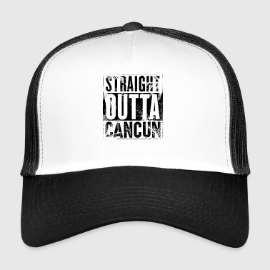 Cancun Mexico Vacation Souvenir Design - Trucker Cap