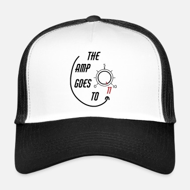 Rock &amp The Amp Goes To 11 - Trucker Cap