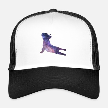 Emil Yoga Pug Dog Galaxy Univers Mignon Cadeau Cool - Trucker Cap